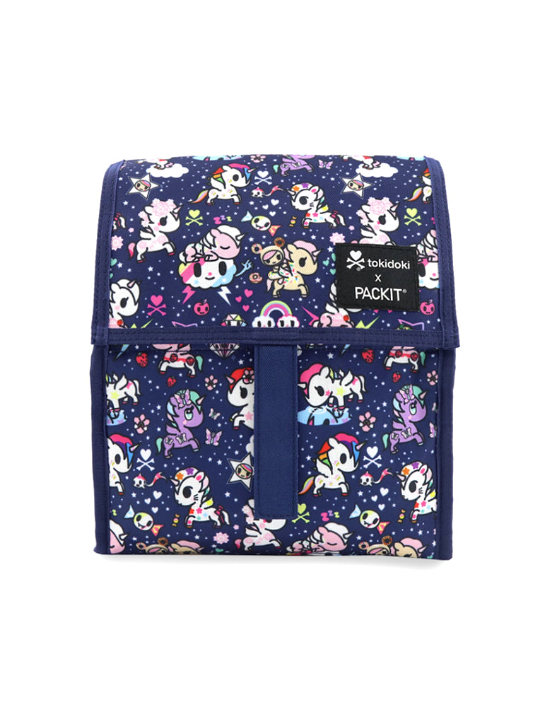 tokidoki x PACKIT Unicorno Dreams Personal Cooler Front