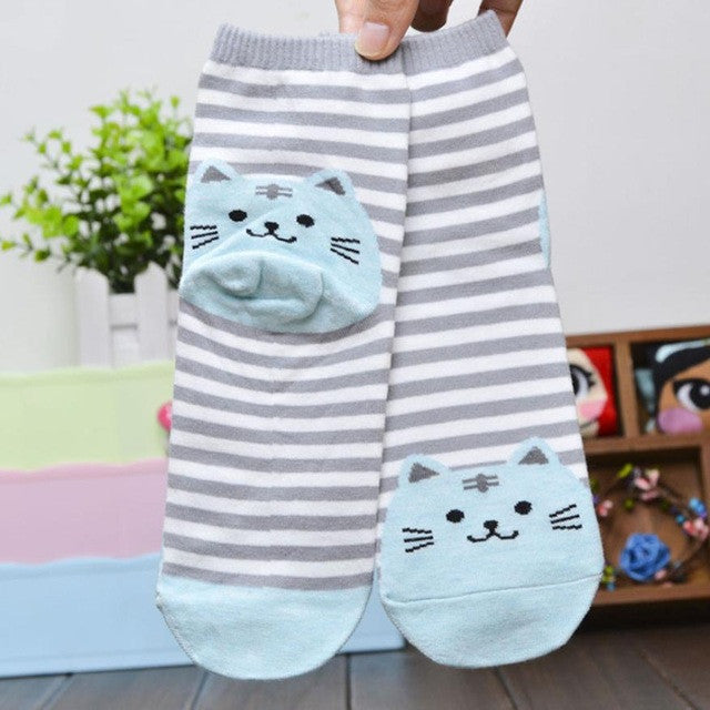 Superb Cat Socks