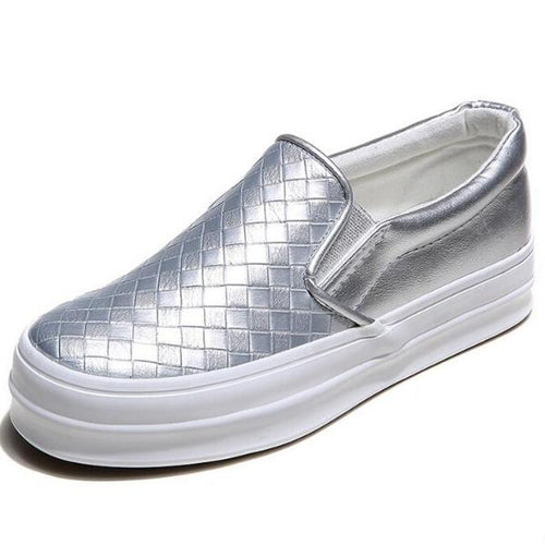 Slip-On Pattern Sneakers