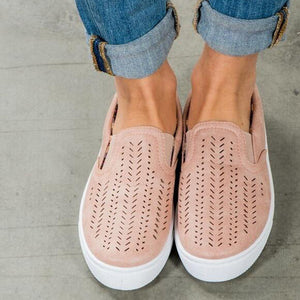 Breathable Slip On Sneaker