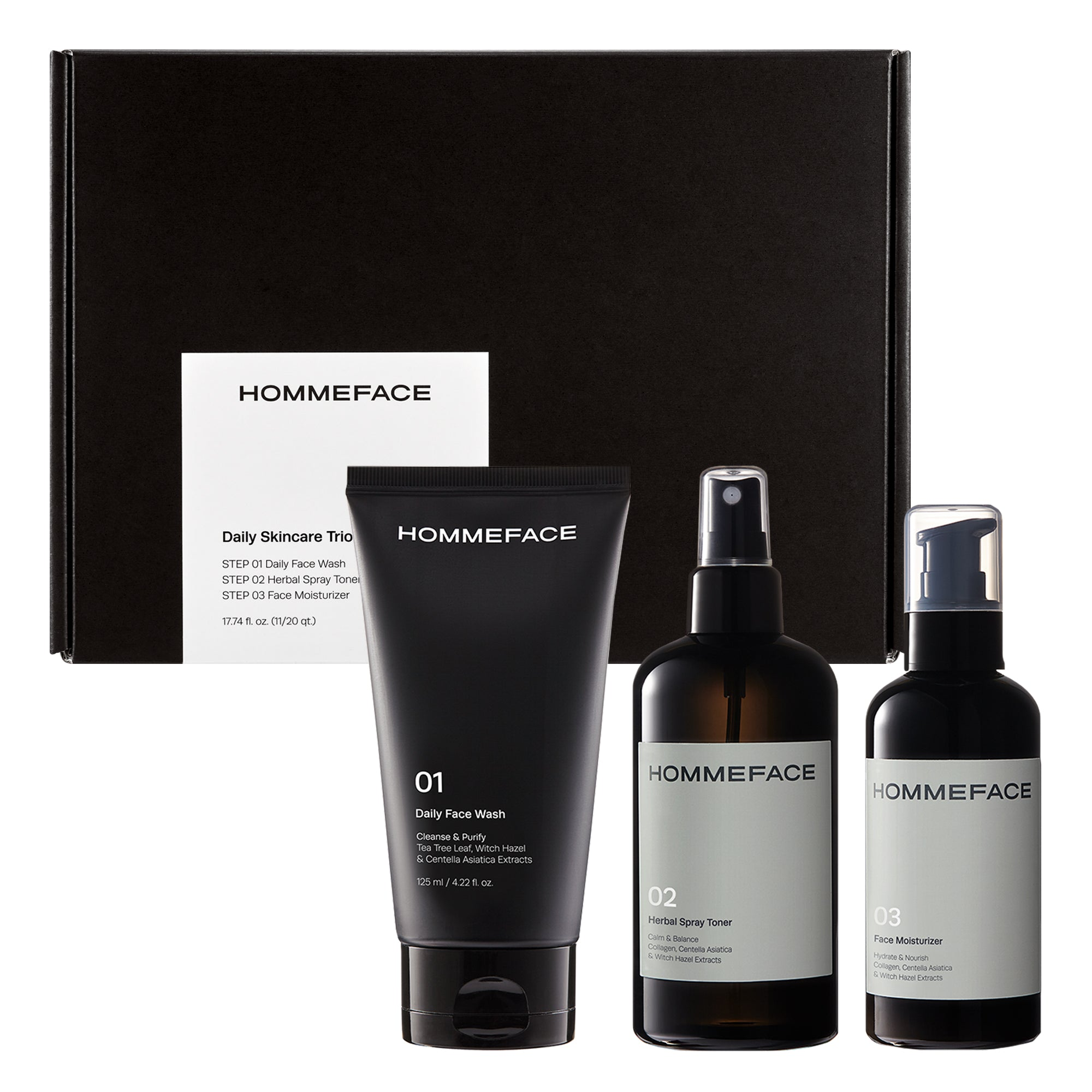 Daily Skincare Trio Set