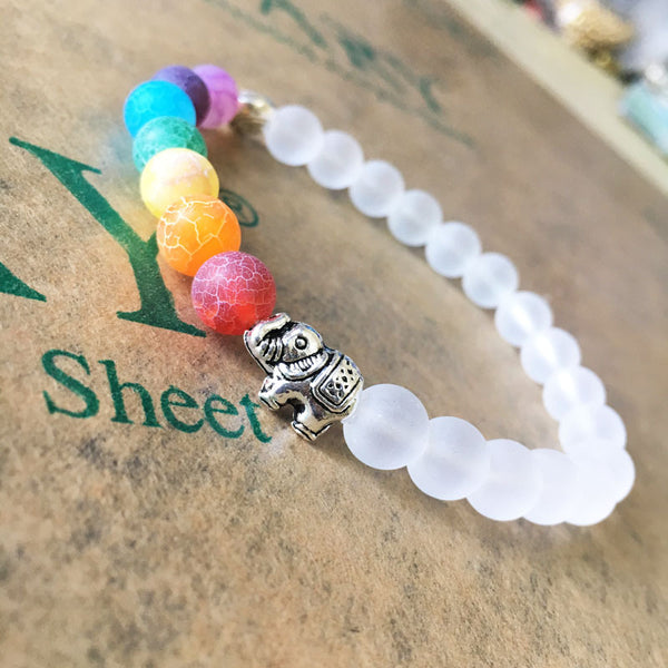 Handmade Natural 7 Chakra Bead Stone Bracelets for Women Reiki Healing Yoga Bracelet Strand Beaded Bracelet Men