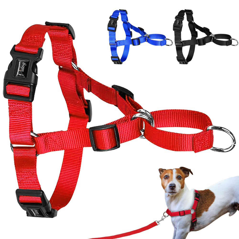 Easy Walking No Pulling Nylon Dog Harnesses Dogs Walking Vest Comfort Control For Daily Walking And Training S M L X/L