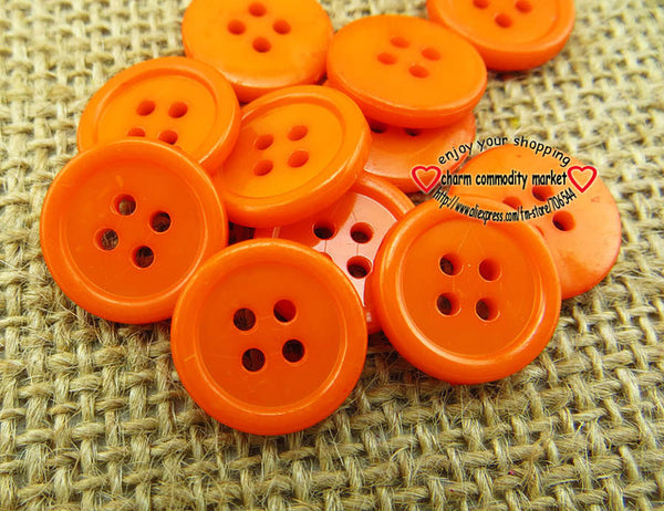 10MM 13MM 15MM 18MM 20MM 23MM 25MM 30MM colors Dyed Plastic buttons coat boots sewing clothes accessory