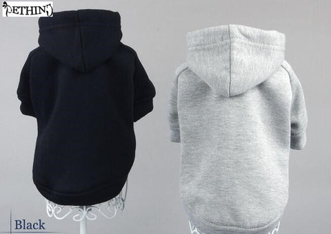New style popular pet dog Sweater small dog hoodies Various colors of the dog clothing cotton Dog Sweatshirt Hoodie Jacket