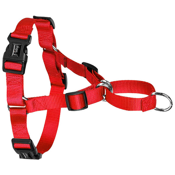 Nylon No Pull Dog Harness No Choke Training Dogs Harnesses Front Fastening Stop Pulling S M L XL