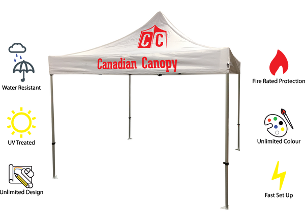 All canopies feature industry leading waterproof 600 denier material and are CAN/ULC-S109 Small Flame Certified. These commercial tent tops cover our ...  sc 1 th 191 & Canadau0027s Source for Pop up Canopy Tents u2013 Canadian Canopy