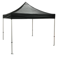 Plain 10x10 EZ pop up Tent Canopy Black