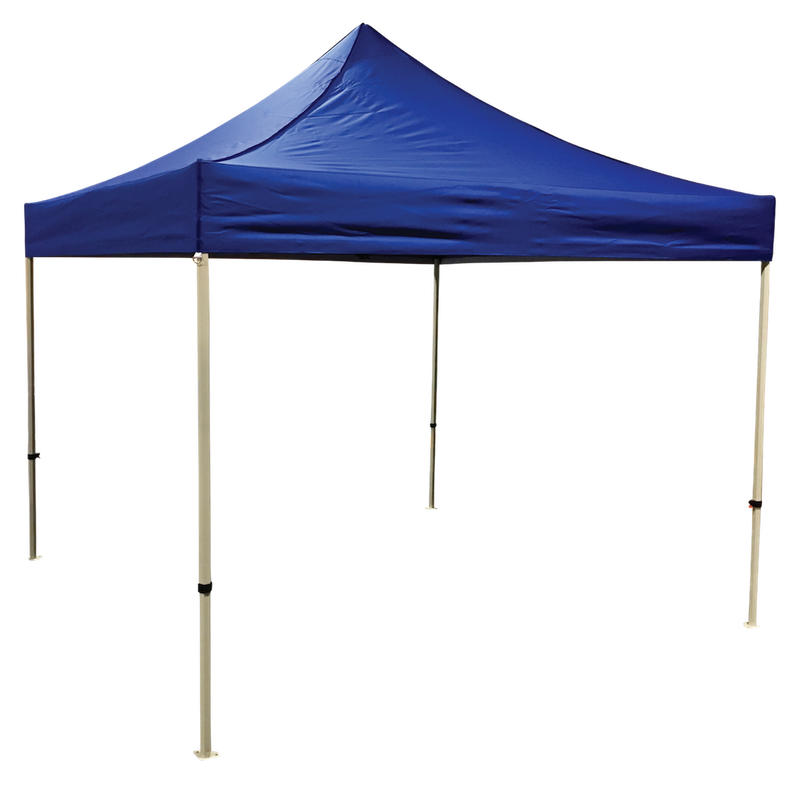 Plain 10x10 EZ pop up Tent Canopy Blue