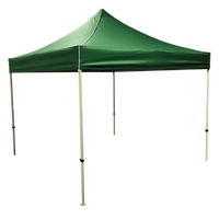 Plain 10x10 EZ pop up Tent Canopy Green