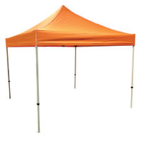 Orange 10x10 Pop Up Tent