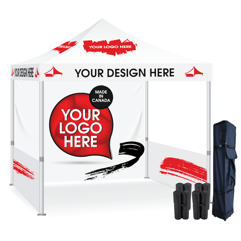 Tent Display and walls with Custom Graphics