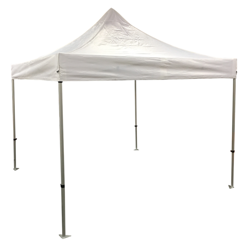 Plain 10x10 EZ pop up Tent Canopy WHITE