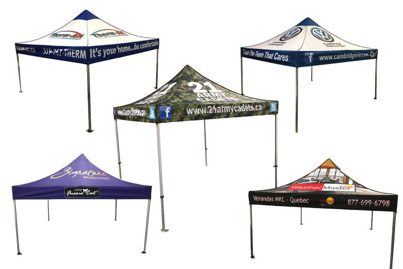 Printed Canopy Tent Kits