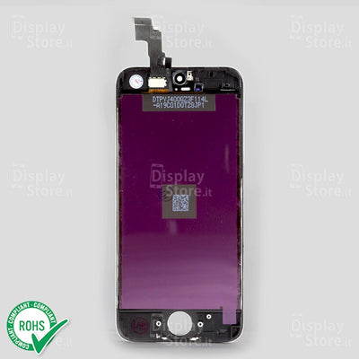 "Display Compatibile DS  ""AAA grade"" per Iphone 5c nero"
