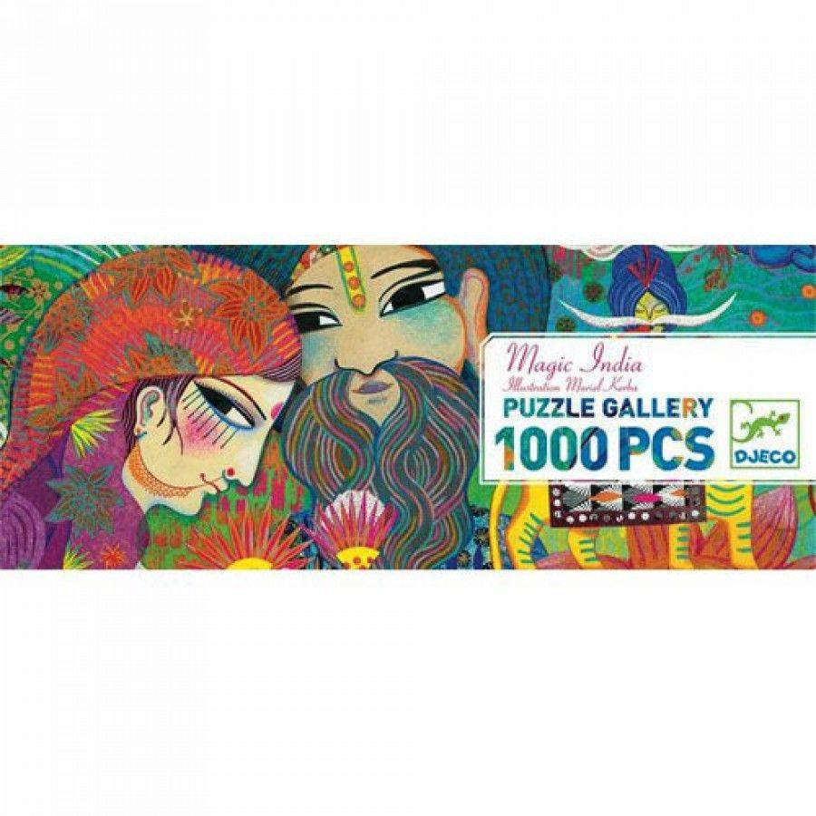 Puzzle 1000 Pièces - Magic India