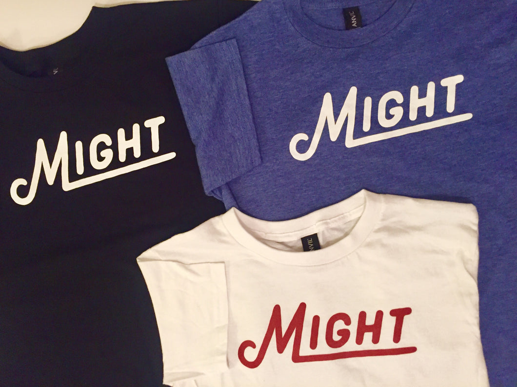 Kid's Might Logo tee