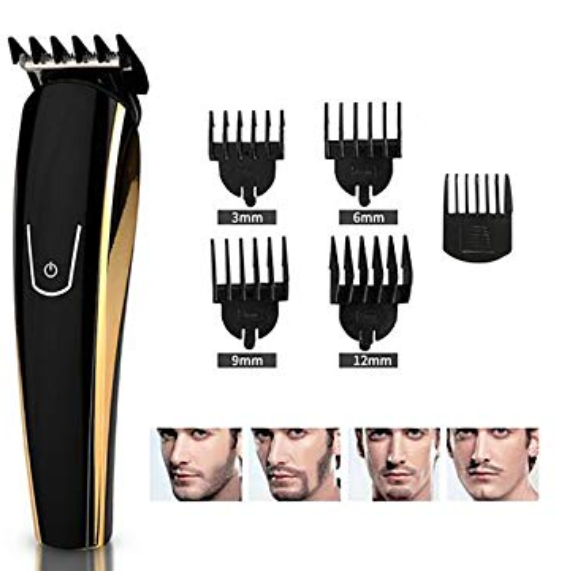 Rechargeable Electric Waterproof Precision Grooming Kit - Styling Template Tool
