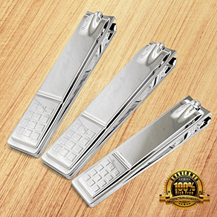 Toenail and Fingernail Nail Clippers Kit by Shavermen - Shavermen