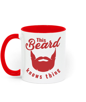 """This Beard Knows Thing"" Coffee Mug - Styling Template Tool Drinkware"