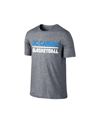 Canberra Capitals Grey Marle Performance Tshirt