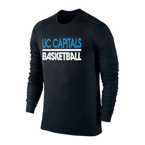 Canberra Capitals Performance Tshirt Long Sleeve