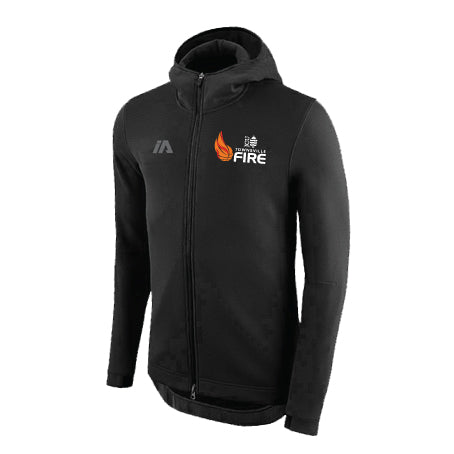 Townsville Fire Black Pro Zip