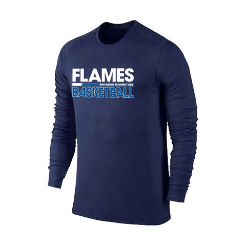 Sydney Flames Performance Tshirt Long Sleeve