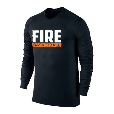 Townsville Fire Performance Tshirt Long Sleeve