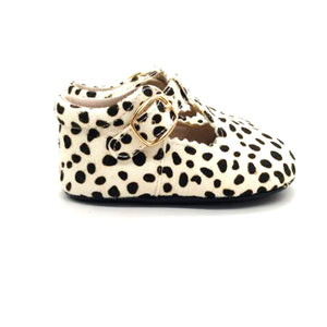 Leopard Mary Janes