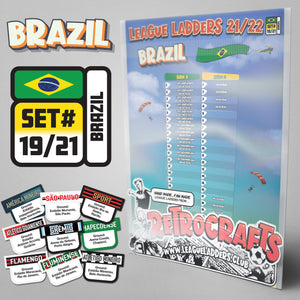 Brazil Football League 2021/22 Season League Ladders Set#19/21