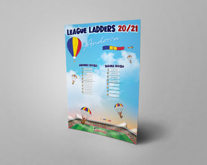 Andorra Football League Tiers 1 & 2 2020/21 Season League Ladders