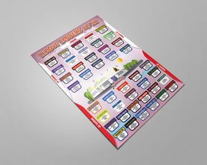 Japan Football League 2021/22 Season League Ladders Set#1/21