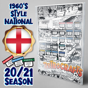 1960's Style National League Steps 1 & 2 2020/21 Season League Ladders