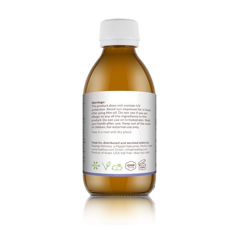 calm - 100% natural massage oil