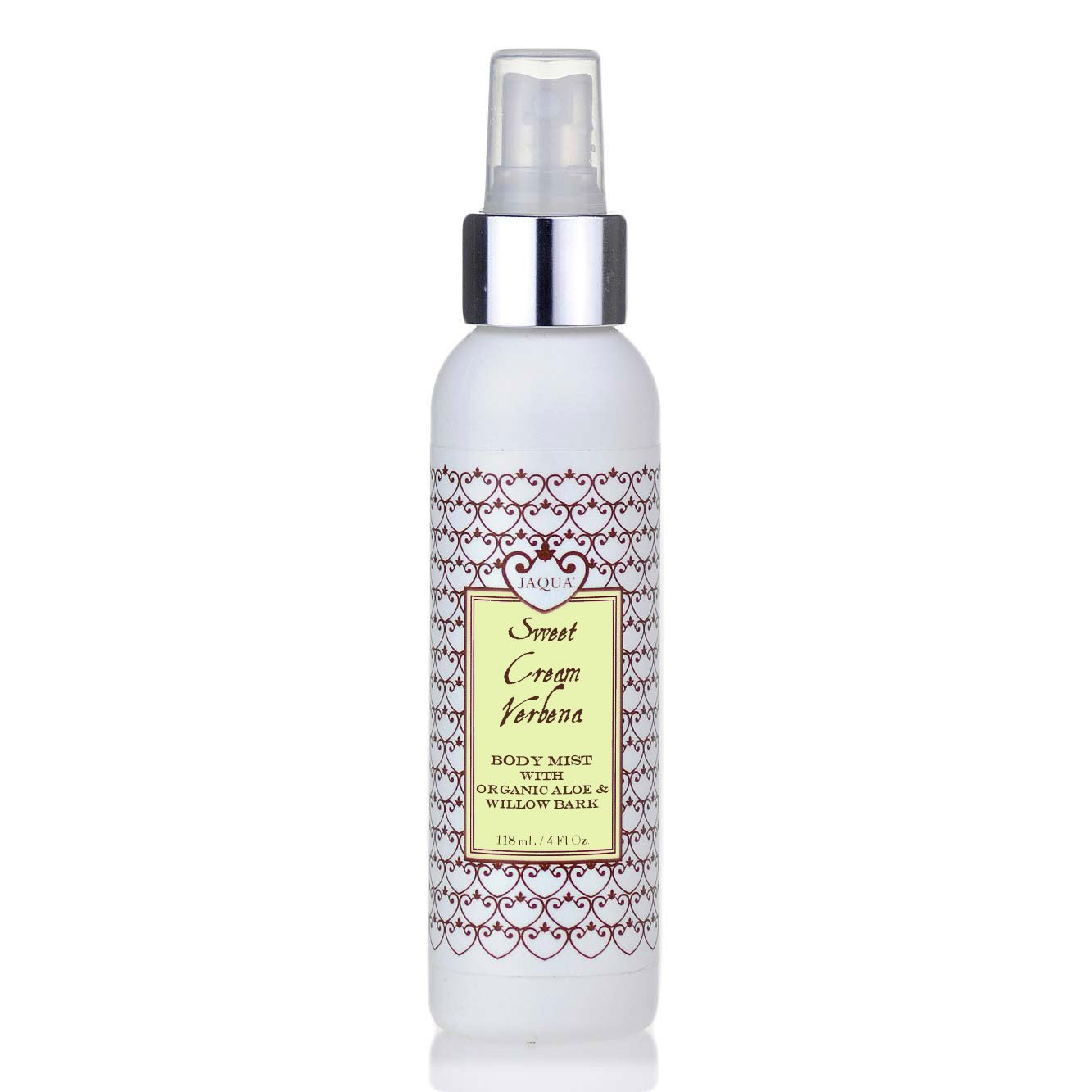 Sweet Cream Verbena Hydrating Body Mist With Organic Aloe & Willow Bark