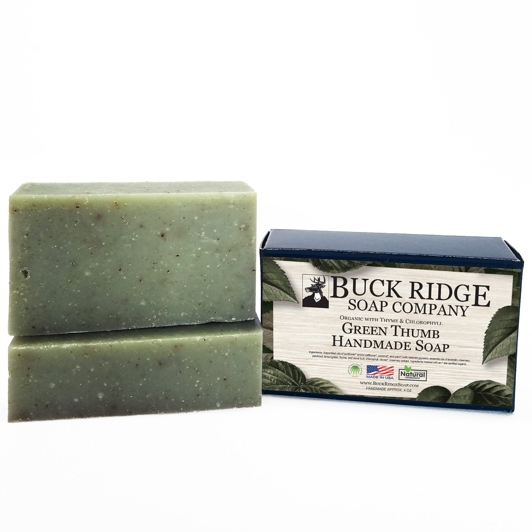 Green Thumb Handmade Soap - Organic