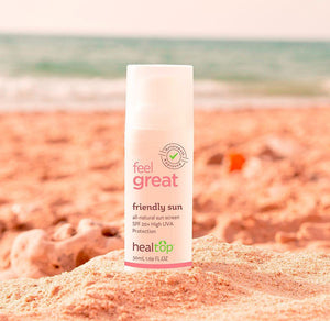 friendly sun - all natural sun screen