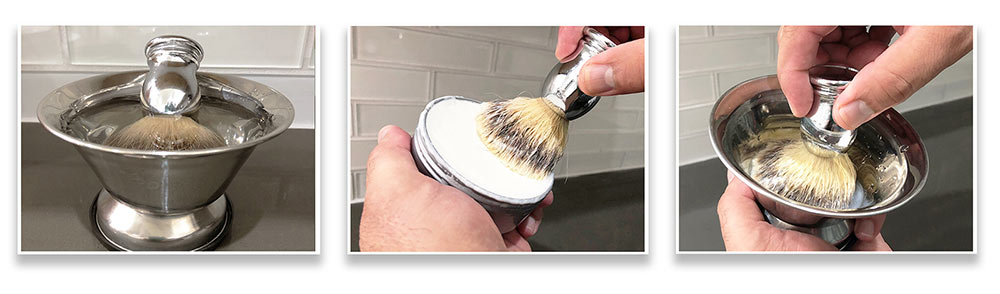 Create the perfect lather for a perfect shaving experience