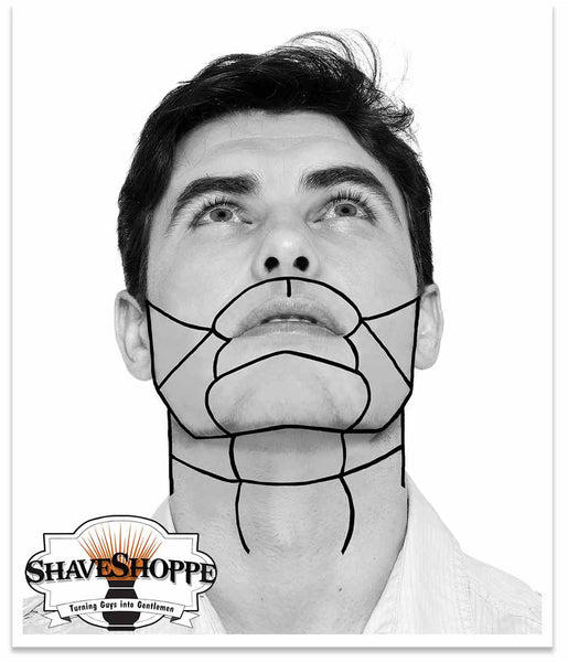 Face Mapping; Hair Growth Patterns relevant to shaving