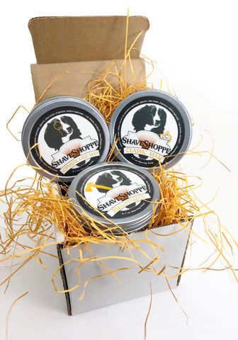 Gentleman Shave Soap Set of 3