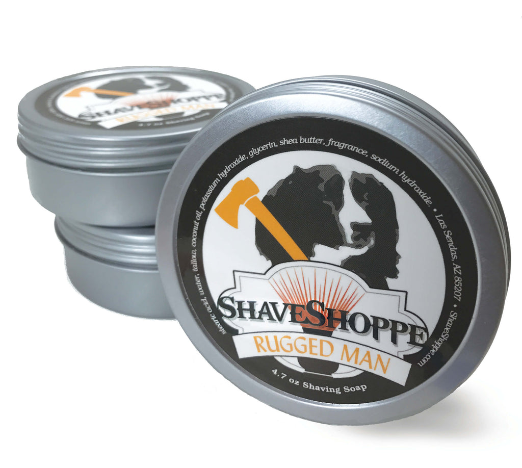 Rugged Man Shave Soap 4.7 oz.