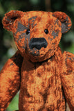 Alfred Albert 16 inch traditional jointed mohair teddy bear sewing pattern by Barbara-Ann Bears
