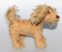 Brian is a one of a kind, mohair, collector's dog by Barbara-Ann Bears