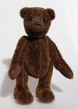 Bruno a traditional artist teddy bear in German mohair by Barbara-Ann Bears