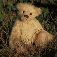 Makepeace PRINTED traditional jointed mohair teddy bear sewing pattern by Barbara-Ann Bears
