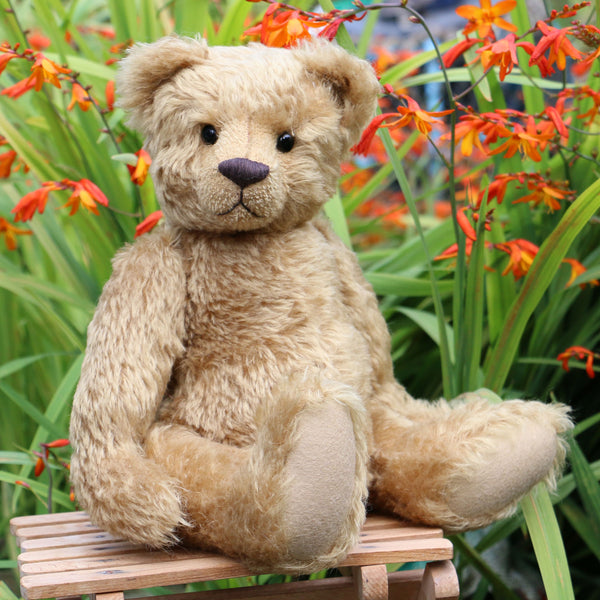 Frederick PRINTED jointed teddy bear sewing pattern by Barbara-Ann ...