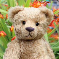 Frederick PRINTED jointed teddy bear sewing pattern by Barbara-Ann Bears
