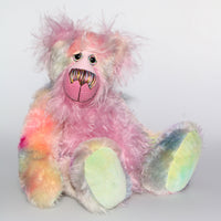 Mildred,one of a kind, artist teddy bear by Barbara-Ann Bears