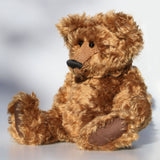 Robbie, traditional teddy bear made from gorgeous English mohair by Barbara Ann Bears